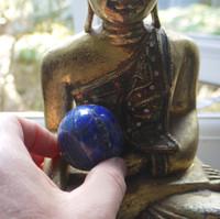 Lapis Lazuli sphere (112197)