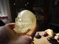 Citrine skull (112828)