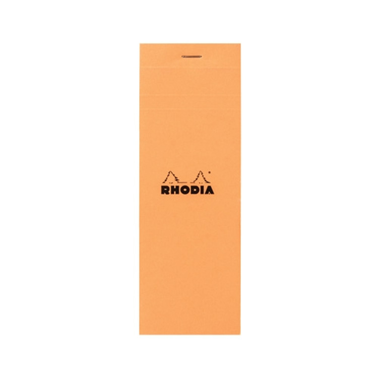 ORANGE NOTEPAD 3X8.25