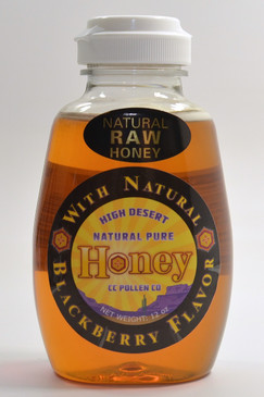 Honey with Blackberry 12 oz