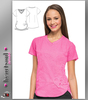 "HeartSoul Women's ""Girls Love Pink"" V-Neck Top - Pink"