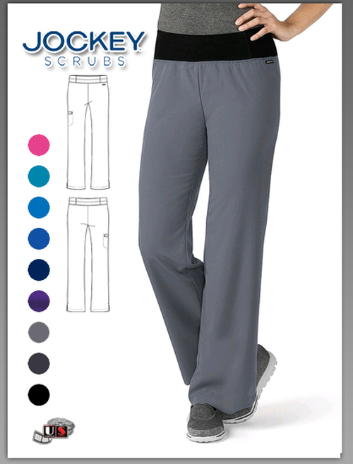 Jockey Scrubs Modern Fit 1 Pocket Women's Perfected Yoga Pant