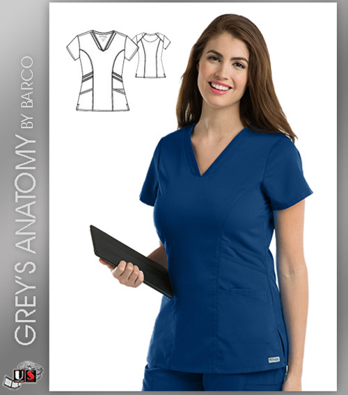 Grey's Anatomy Marquis V-Neck Scrub Top
