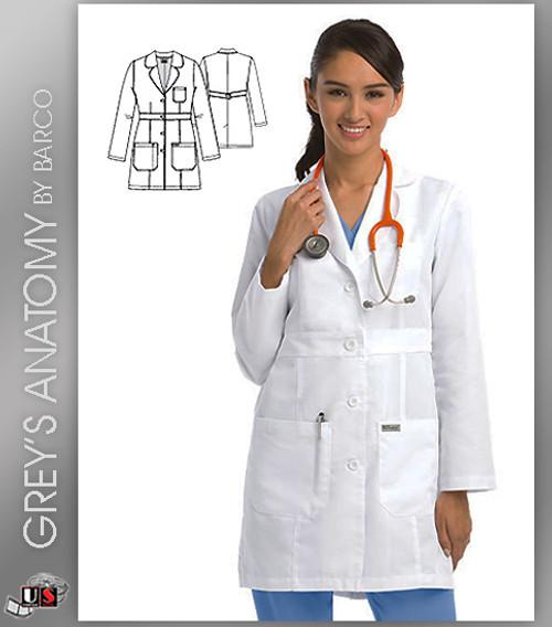 "Grey's Anatomy™ Women's 34"" Lab Coat"