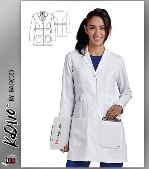 "KD110™ Kenzie 32"" Lab Coat White"