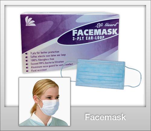 LIFE GUARD Face Mask(Box of 50)