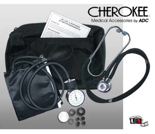 New Student Kit Stethoscope Blood Pressure with Nylon Case