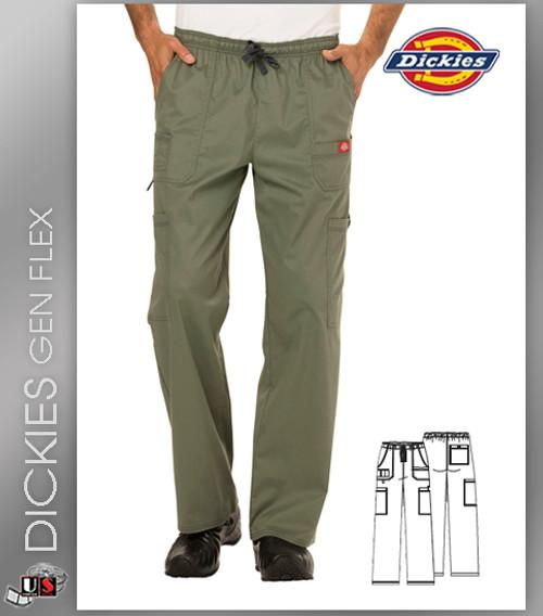 Dickies Gen Flex Scrubs Men's Drawstring Cargo Pant
