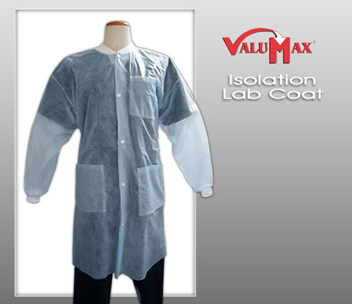 ValuMax Isolation Lab Coats ( 10 pcs )