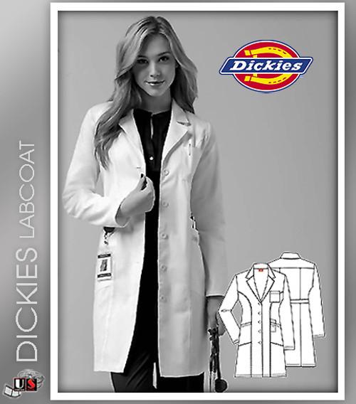 """Dickies 37"""" Women's Original Junior Fit Lab Coat"""