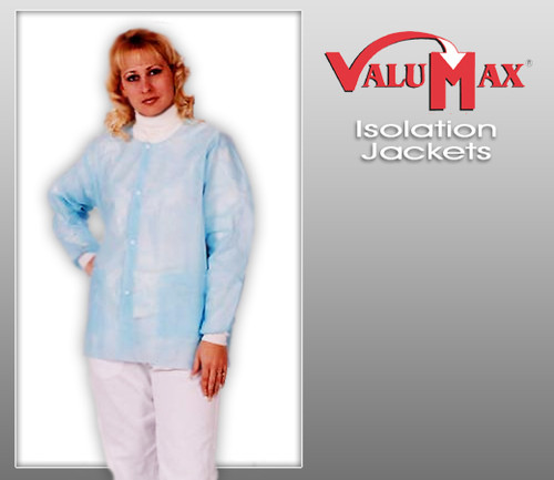 ValuMax Isolation Jacket Hip Length Lab Coat ( 10 Pcs )