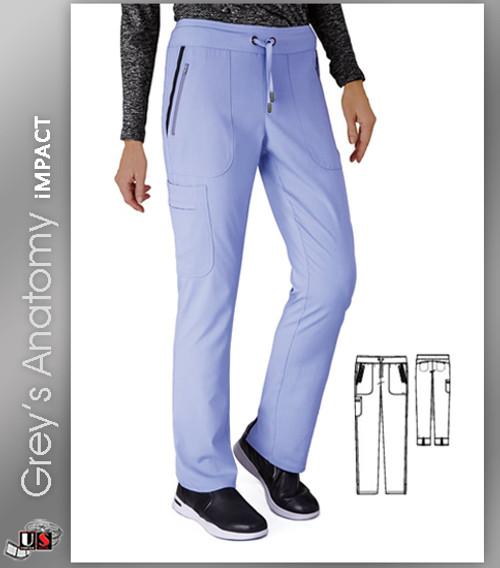 Grey's Anatomy™ iMPACT Women's Drawstring Cargo Scrub Pant