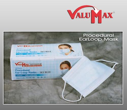 Valumax Procedural Ear Loop Masks ( 50 Pcs / Box  )