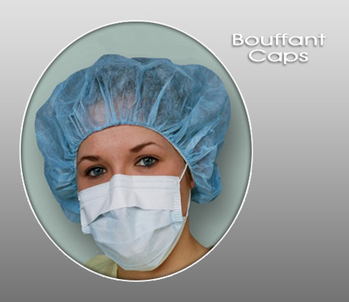 Bouffant Caps ( Pack of 100 )