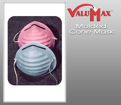 Valumax Molded Cone Masks  ( Box of 50 )