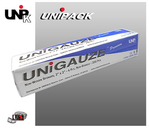 UNIPACK UNIGAUZE Premium Non-Woven Sponge
