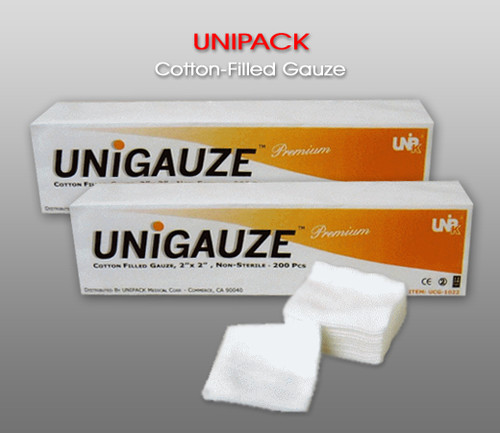 UNIPACK Cotton-Filled Gauze