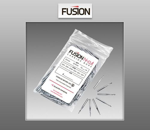 Fusion Hi-Cut Burs - Trimming & Finishing (T&F) 100 / Pack