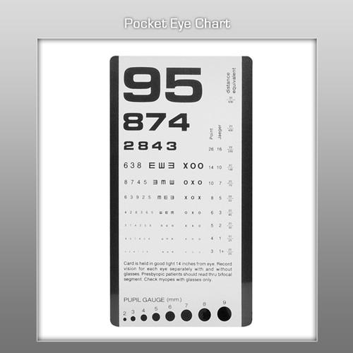 Prestige  Pocket Eye Chart