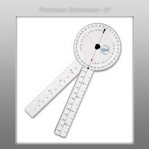 "Prestige Protractor Goniometer - 8"""