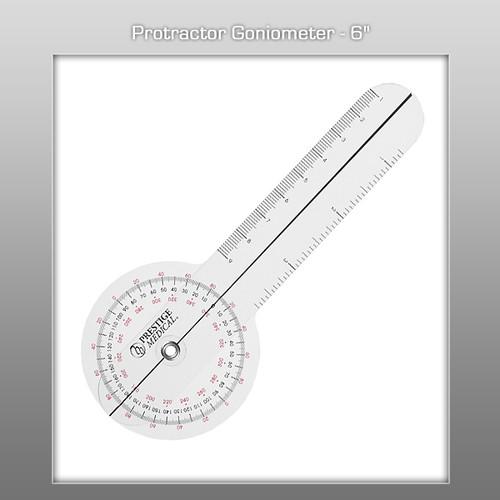 "Prestige Protractor Goniometer - 6"""