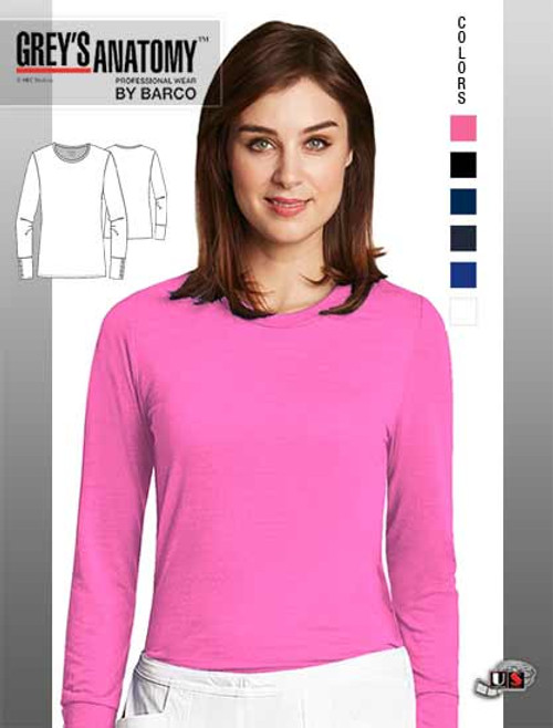Grey's Anatomy™ Signature arclux™ With 4-Way Stretch Christina Long Sleeve Tee