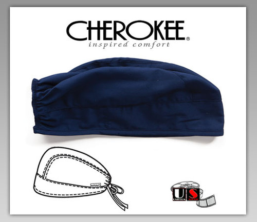 Cherokee Adjustable Tie-Back Scrub Hat