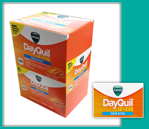 Vicks Dayquil Severe Cold & Flu Relief Caplets 20CT