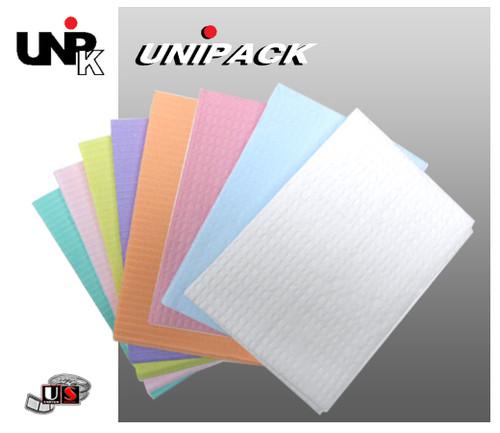 UNIPACK Disposable Patient Bibs