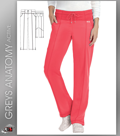 Greys Anatomy Active 4 Pockets Pant