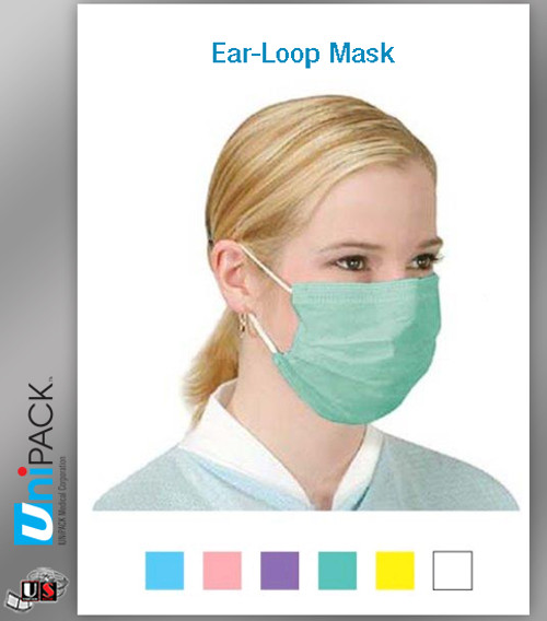 UNIPACK Ear-Loop Mask