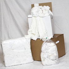 White t-shirt 25lb. Box