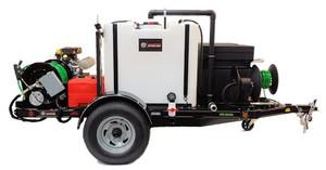 583 Series Trailer Jetter 1230 - 32.5 HP, 12 GPM, 3000 PSI, 330 Gallon
