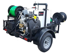 55 Series Trailer Jetter 1140 - 37 HP, 11 GPM, 4000 PSI