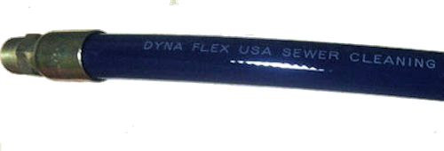 Dynaflex Jet Hose 3/4x600' MxMS 3000 PSI Blue