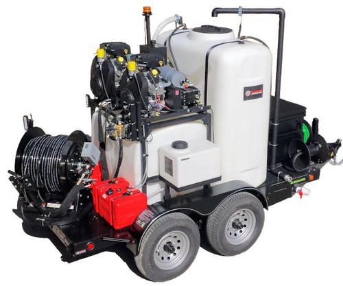 51TP Series Trailer Jetter 4020 - 74 HP, 40 GPM, 2000 PSI, 800 Gallon