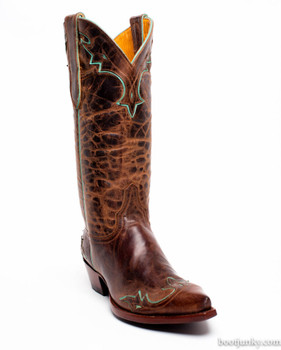 L 060-59 -SS Old Gringo Villa Boots Mad Dog Rust Turquoise