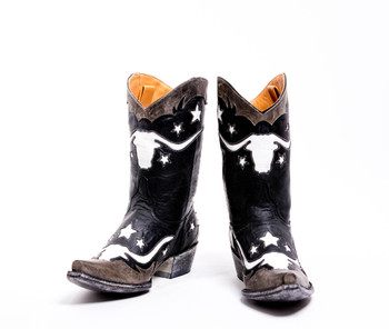 """L1798-1-SS OLD GRINGO BODACIOUS LONGHORN 10"""" LEATHER BOOTS"""