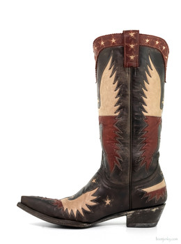 L1428-3-RR Old Gringo Women's Where Eagles Fly Western Cowgirl Boots