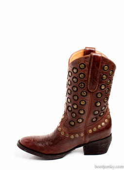L2242-1-SS OLD GRINGO AVERSI STUDDED COWGIRL BOOTS