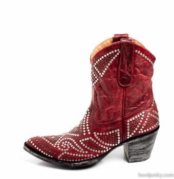 L2250-3-SS OLD GRINGO WOMEN'S VARICELLA RED COWGIRL BOOT