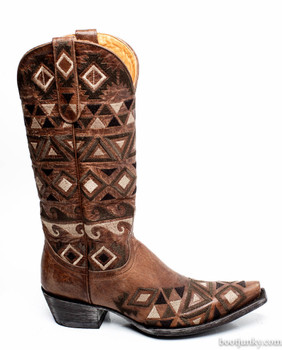 L2371-1-SS OLD GRINGO DURANGO EMBROIDERED COWGIRL BOOTS