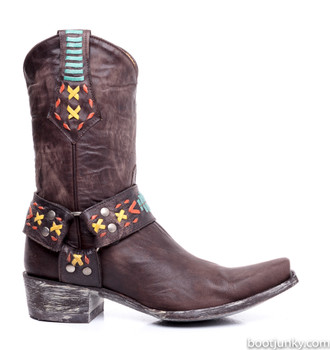 """L1617-1-SS Old Gringo Hanna Apache 10"""" Cowgirl Boots"""