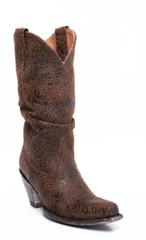 """L 126-08-SS OLD GRINGO SHARPEI 13"""" RUST /BLACK COWGIRL BOOTS"""