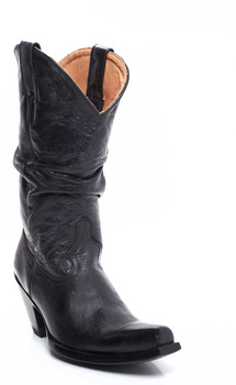 """L 126-10-SS OLD GRINGO SHARPEI 13"""" BLACK COWGIRL BOOTS"""
