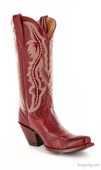 "L 163-55 OLD GRINGO RIO 13"" RED COWGIRL BOOT"