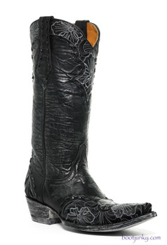 "L 640-9 OLD GRINGO ERIN 13"" BLACK COWGIRL BOOTS"