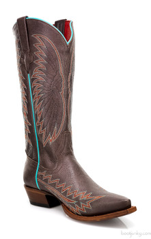 """DES01 MACIE BEAN MONTANA TABACO 13""""  COWGIRL BOOTS"""