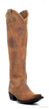 """L1613-10-SS GORGEOUS OLD GRINGO MAYRA COGNAC 18"""" TALL LEATHER BOOTS"""