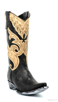 "L2832-1 OLD GRINGO MARSELL SKYNI 13"" DISTRESSED LEATHER COWGIRL BOOTS"